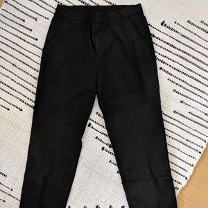 Uniqlo Black Waist Stretch Pants (S)